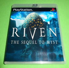 Riven: The Sequel to Myst Sony PlayStation 1 PS1 System 5 discs Game