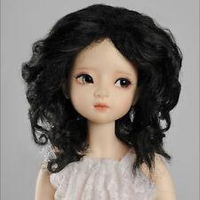 "Dollmore 1/4 BJD MSD wig  (7-8)"" JKM Wig (Black)"