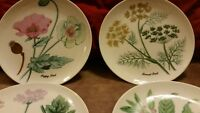 HORCHOW COLLECTION HAND PAINTED DESSERT DISHES