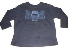 Esprit tolles Langarm Shirt Gr. 80 / 86 dunkelblau mit Druckmotiv !