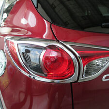 For Mazda CX-5 CX5 2012-2015 SUV 5door Chrome Rear Tail Light Lamp Cover Trim