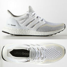 1fb4cc1e680d adidas Ultra Boost Womens White Grey Running Shoes Trainers AF5142  UltraBOOST