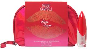 Naomi Campbell Glam Rouge Set 15 ml EDT Spray +  Bag / Tasche
