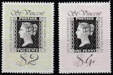 St. Vincent postfris 1990 MNH 1514-1515 - Black Penny 150 Jaar (K044)