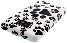 ¡ nuevo! animal Paw Print Gel Skin Funda / Cover Para Samsung I9100 Galaxy S2