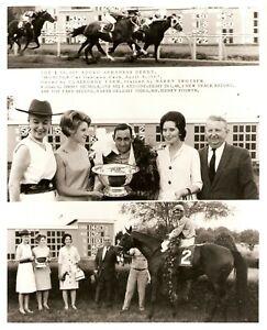 "1967 - Arkansas Derby Winner - MONITOR - 3 Photo Composite - 8"" x 10"""