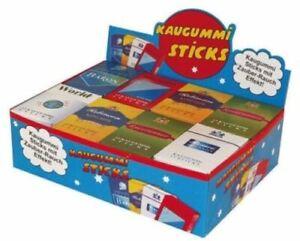 Kaugummi Zigaretten mit Zauberrauch + Tutti Frutti Sticks 4 Päckchen