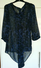 Collarless Blouse Size Tall for Women
