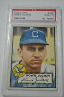 1952 Topps - Howie Judson - #169 - PSA 6 - EX-MT