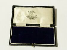 Antique Empty Jewellery Box Masonic Jewel Storage Display Spencer #SP20