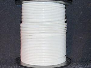 """22 GA. 19 Strand Type """"ET"""" Teflon White MIL16878/6-22 200°C@ 250V  100 ft. spool"""
