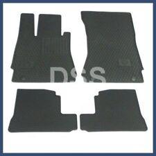 Genuine Mercedes S Class Factory OEM Accessory Rubber Floor Mats (07-13) Black