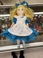 VINTAGE Stuffed RUSS Alice in Wonderland Doll New York Library 1992  Rare