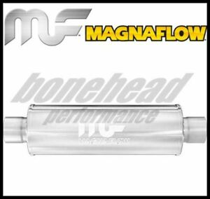 """Magnaflow 10416 Performance Stainless Round Muffler 2.5"""" Inlet / Outlet Exhaust"""