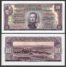 Uruguay, 10 Pesos, L. 1939 P-42b, UNC