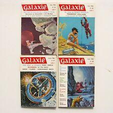 Lot de 4 livres GALAXIE n°25-26-27-28 - 1966 - Science Fiction - Fantastique