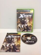 X-Men Legends II: Rise of Apocalypse (Microsoft Xbox, 2005)