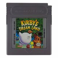 Kirby's Dream Land (Nintendo Game Boy, 1992) Authentic Tested Works