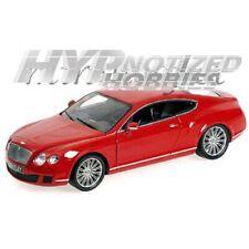 MINICHAMPS 1:18 2011 BENTLEY CONTINENTAL GT DIE-CAST RED 100-139922