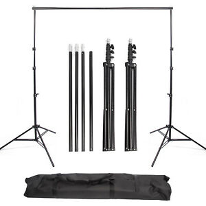 Backdrop Support Stand 2.8x3m Studio Background Photo Heavy Duty Photography UK