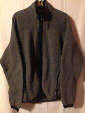 Vintage Rei Gray Full Zip Polartec Fleece Jacket Medium