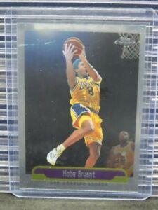 1999-00 Topps Chrome Kobe Bryant Card #125 Lakers Y863