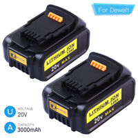 Replace for DEWALT DCB205 20V Max Premium XR Lithium Battery 3.0AH DCB204 DCB200