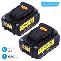 Replace for DEWALT DCB205 20V Max Premium XR Lithium Battery 3.0AH DCB204 DCB200