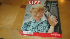 1955 LIFE MAGAZINE AUGUST 29 GRANDSON GRANDFATHER HIGH GRADE LOWEST PRICE - EBAY