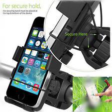 Universal Adjustable Motorcycle Bike Bicycle Cell Phone Handlebar Mount Holder