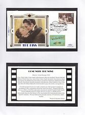 GB 1995 Greetings Stamps Benham silk Series The Kiss (2) Unadressed FDC