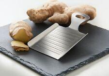 Ingwerreibe EDELSTAHL 13x9cm  Reibe Gewürzreibe Zitronenreibe Küchenreibe Ingwer