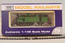 Dapol N Gauge ND-046 Southern Region Lined Malachite 676 Locomotive MIB