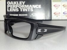 Oakley Fuel Cell Granite w/ Chrome Oakley Icons - SKU# 9096-H760 Brand New