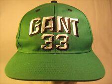 Adjustable Men's Cap HARRY GANT #33 Green NASCAR [M3f]