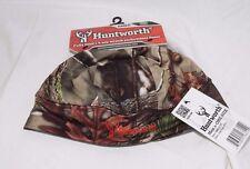 Mens Huntworth Waterproof Oaktree EVO Camo Fleece Beanie Lined Hunting Cap Hat