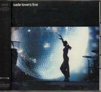 Sade Lovers Live JAPAN CD with OBI EICP66