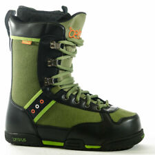 NEW Celsius Hitchhiker Hunter Green Lace Men's Snowboard Boots MEMORY FOAM