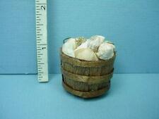 Shells in a Basket -  Dollhouse Miniature