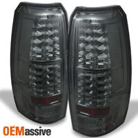 Fits Smoked 2007-2013 Avalanche Philips Lumileds LED Tail Brake Lights Pair set