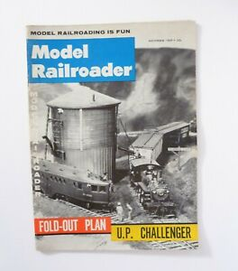 MODEL RAILROADER November 1959 Vintage Magazine
