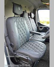 Renault Master Tailored Seat Covers Genuine Fit Waterproof Diamonds Logos 2010+