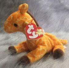 Ty Beanie Baby TWIGS Giraffe  w/ Tag 11 ERRORS Plush Toy RARE PVC NEW RETIRED