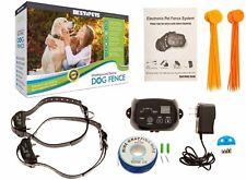 2 Wireless Shock Collar Waterproof Hidden System Underground Electric Dog Fence
