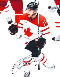 Brenden MORROW Signed 2010 Olympics 8x10 Photo CANADA