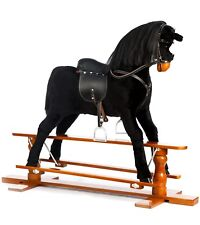 "Brand New LUXURIOUS EXTRA LARGE Rocking Horse ""BEAUTY""  SIZE XL age 6 -13 years"