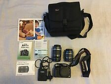 Canon  EOS 500D / Rebel T1i 15.1 MP Digital SLR Camera - Black Kit w/ Lenses