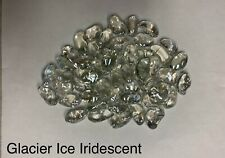 Glacier Ice Iridescent Fire Glass, Gas Fireplaces, Gas Fire Pits, Landscape
