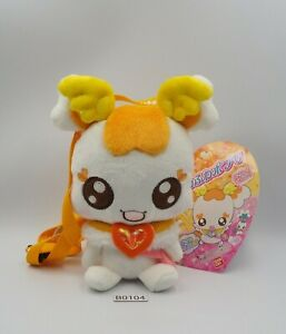 "Heartcatch Pretty Cure B0104 Precure Potpourri Bandai Zipper Sling Bag 6"" Plush"