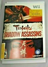 Nintendo Wii, 2009: TENCHU Shadow Assassins In Very Good Condition
